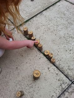 Mummy G talks parenting: Outdoor learning - maths in the garden.