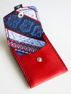 Red with Red, White & Blue (Pocket Wallet)