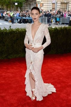 Rooney Mara in Givenchy at the Met Gala