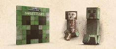 New Book Alert: Mobestiary Mine Minecraft, New Books, Pop Culture