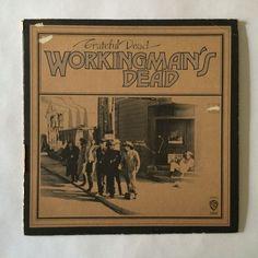 The Grateful Dead - Workingman's Dead_Vinyl Record LP_WB white label_(WS 1869)