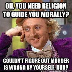 Does ethics/morality depend on religion?