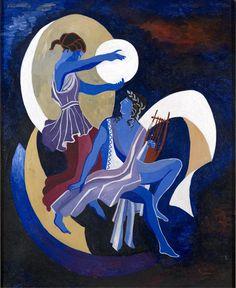 Aleksandra Ekster ~ A founder of the Art Déco Cubist Art, Cubism, Abstract Art, Art Deco Paintings, Dance Paintings, Female Painters, Avant Garde Artists, Georges Braque, Painter Artist