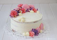Na vidličku: Vanilkový dort s mascarpone a malinami Naha, Blonde Bobs, Pavlova, Baby Shower Cakes, Panna Cotta, Cheesecake, Good Food, Food And Drink, Pudding