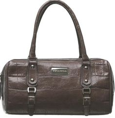 Barrel Bag (Carla) in Calf Leather by Veragioia