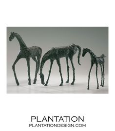 PLANTATION | Pasture Horse Sculptures