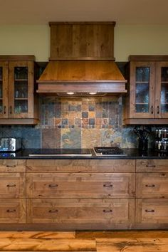 Cabin Kitchens Design Ideas, Pictures, Remodel, and Decor - page 12