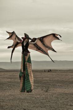 AfrikaBurn 2012. Karoo, South Africa. Photograph Vincent Raffray.
