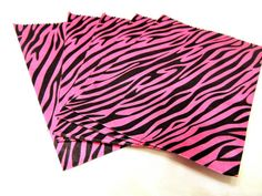 200 pink zebra 5x7 merchandise party fun bags. Starting at $9 on Tophatter.com!