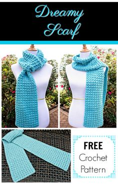 12 Weeks of Christmas #CAL 2017, soft scarf on Pattern-Paradise.com #12WeeksChristmasCAL #patternparadisecrochet #crochet #scarf #wrap