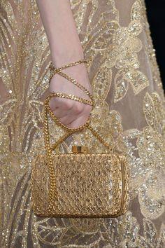 Elie Saab Haute Couture Fall 2015 #details #bag