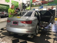 We did a Mind Blowing Package on this 2016 Audi A3. Basically what that means is: We grantee to replace your Glass/Tint in any case of damage, if that means someone knocked out your window, or if your dog scratched the tint, we will totally fix that problem right up, at no charge! You also get a free upgrade to darker tint and a free Clear Bra starter pack!  Mind Blowing is the way to go! ;) #WindowTinting #Audi