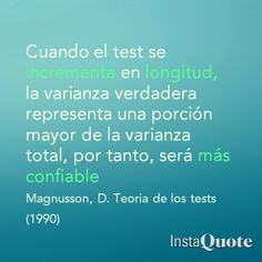 Confiabilidad y longitud del test.