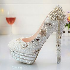 d8b0d1b1a6 439 Best Bridal Shoes images in 2018 | Bridal shoe, Beautiful shoes ...