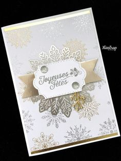Year of Cheer, gold snowflakes