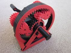 Automatic Transmission Model by emmett. Printed on a 3D printer!
