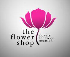 Gallery For > Flower Shop Logo