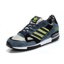 best website 5edf0 43ea5 Zapatillas Adidas Originals ZX 750 Camo Hombre Gris Pizarra   Negro    Obsidiana   Verde Limao  EVmEIU