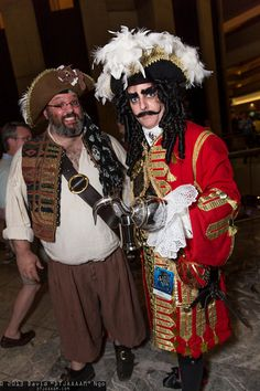 Mr. Smee and Captain Hook | DragonCon 2013