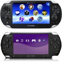 Sony PS Vita VS PSP 3000