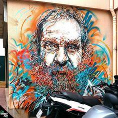 Street Art Paris - Homeless by C215 - Paris 13ème - http://my-street-art.paris/street-art-paris-homeless-by-c215-paris-13eme/