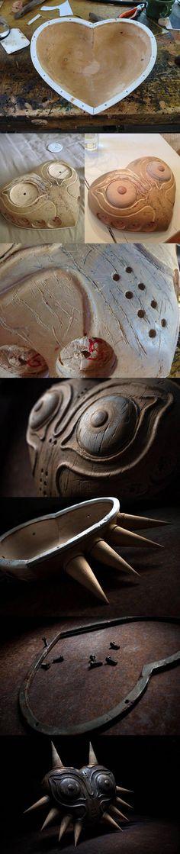 funny-Majora-mask-wood-painted