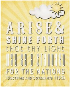 <3 Let your light so shine before men that they may see your good works and glorify your Father which is in Heaven. :)