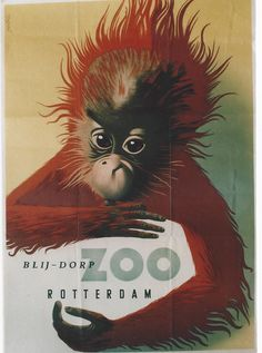Zoo Rotterdam poster