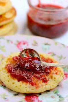 Pancakes façon crumpets #Bikinietgourmandises