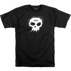ZERO Blown Ink Skull SS tee-shirt black 39,00 € #skate #skateboard #skateboarding #streetshop #skateshop @playskateshop