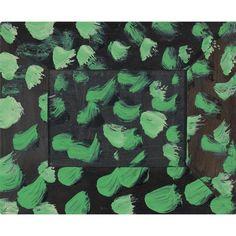 enderbyoutside: Howard Hodgkin, Multiplication, 2012 via Paintings Famous, Green Paintings, Dot Painting, Figure Painting, Howard Hodgkin, Gagosian Gallery, Hans Peter, Small Drawings, Powerful Art