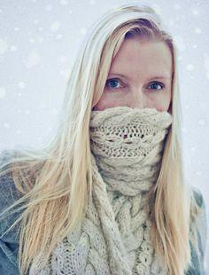 Ravelry: Braided Wrap Scarf pattern by Katrine Hammer