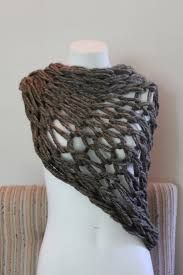 arm knitting shawl - Google Search