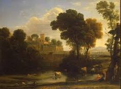 Image result for vintage italian village old painting