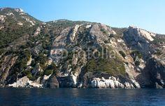 Coast Of Elba Island