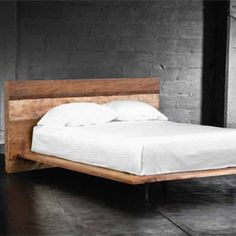 California King White Platform Bed Frame - Ordinary beds which are made out of solid panels are called platform or platform King Platform Bed Frame, White Platform Bed, Wood Platform Bed, California King Platform Bed, California King Mattress, Bed Tools, Pallet Beds, Pallet Furniture, Furniture Ideas