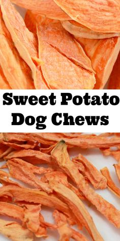Sweet Potato Chews for Dog Stop giving your dog store bought chews that are full of questionable ingredients and start making them homemade dog treats. These Sweet Potato Chews for dogs are the perfect snack for your pet and they are so easy to make! Dog Biscuit Recipes, Dog Treat Recipes, Dog Food Recipes, Sweet Biscuit Recipe, Keto Recipes, Sweet Potato Dog Chews, Sweet Potatoes For Dogs, Homemade Dog Cookies, Homemade Dog Food
