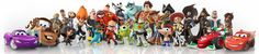 Disney Infinity characters tracks the Disney Infinity figures, power discs, play sets and any type of merchandise related to the Disney Infinity video game.