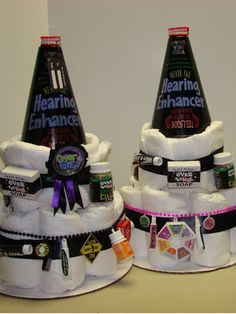 Over the Hill Diaper Cake? I think so!!!