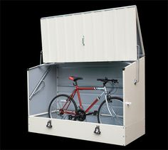 The BikeBox container outdoor or possible design for indoor