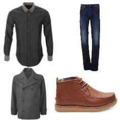 A great casual winter outfit idea for first date. Look the part and make a great first impression with these key pieces. #firstdate