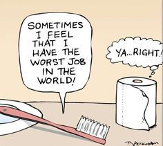 Who has the worst job? Dentists think they do but they need to put things into perspective!