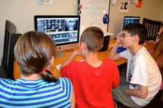 The Pittsburgh Filmmakers Youth Media workshop at the Carnegie Library.  / photo courtesy The Labs @ CLP