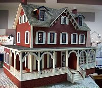 Seduced By History: Miniatures are not just for playing! They can provide inspiration too! Dollhouse Kits, Dollhouse Dolls, Dollhouse Miniatures, Victorian Dolls, Victorian Dollhouse, Antique Dolls, Fairy Houses, Play Houses, Doll Houses