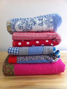 OSKAR & FINN A pile of delicious quilts...