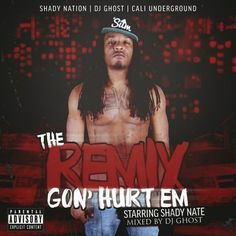 "JESSIE SPENCER: Cali Underground Presents: Shady Nate (@SHADY28NATE) - ""The Remix Gon' Hurt 'Em"" (Mixed by @ImDjGhostt) - Free Mixtape"