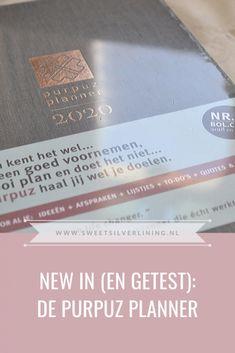New in (en getest): De Purpuz Planner Silver Lining, Line, Lifestyle Blog, Dutch, News, Sweet, Candy, Fishing Line, Dutch Language