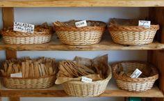 """Lo Integral Panaderia Natural: """"sin leche, sin huevos, sin preservativos, sin…"""