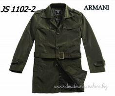 04b05f8a12b Blouson Armani Manteaux Laine Homme Ga 2012 Nouveau Paris Gris In Vert