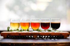 Beer Centerpieces Wedding